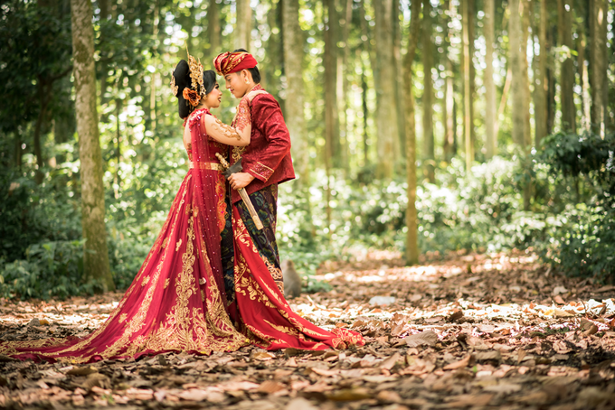 Prewedding at Sangeh - Bali by Bali Epic Productions - 004