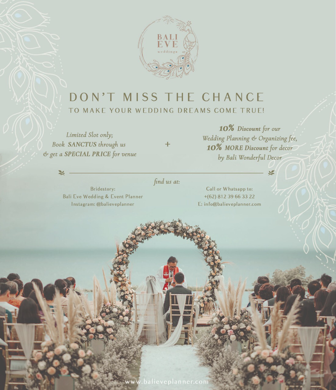 PROMO !  by Bali Eve Wedding & Event Planner - 001