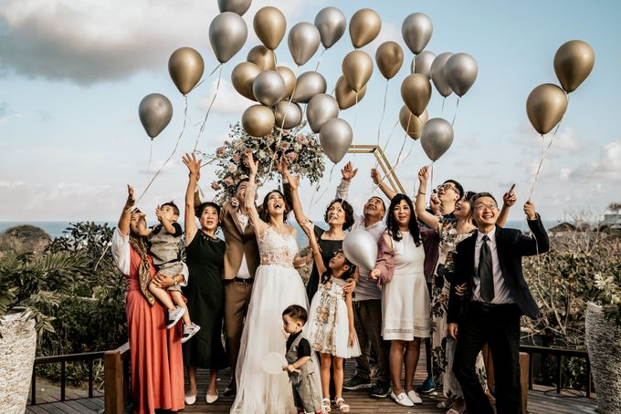An intimate and private wedding in Bali by Hipster Wedding - 024