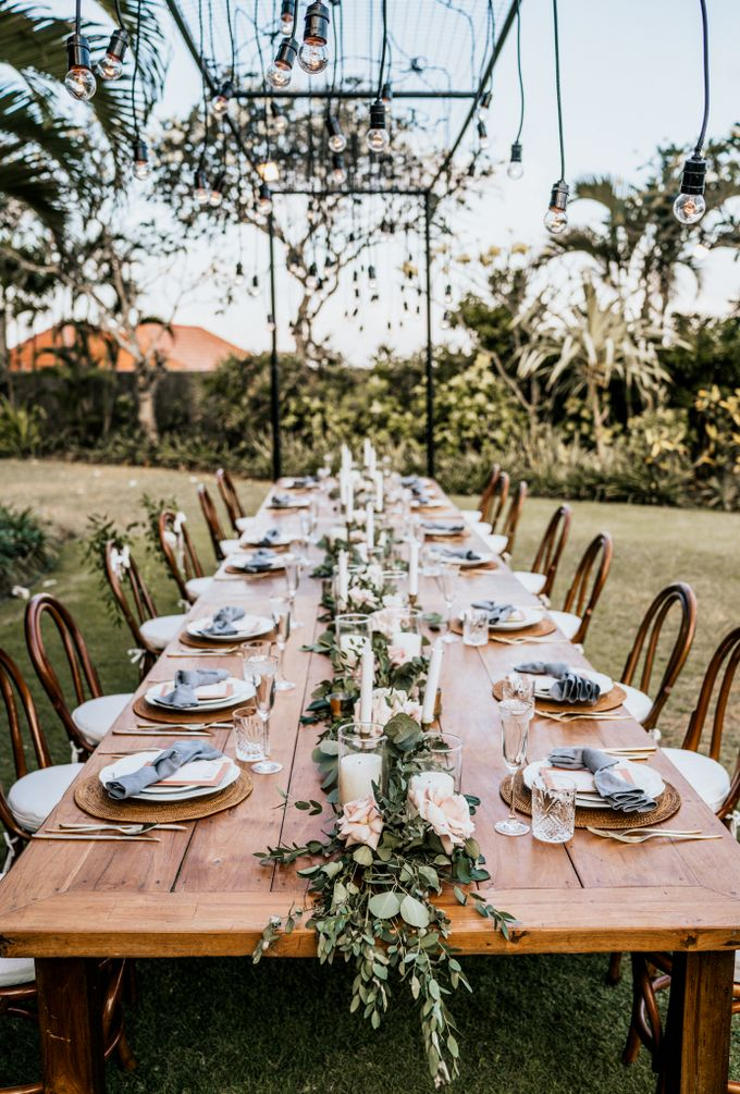 An intimate and private wedding in Bali by Hipster Wedding - 028