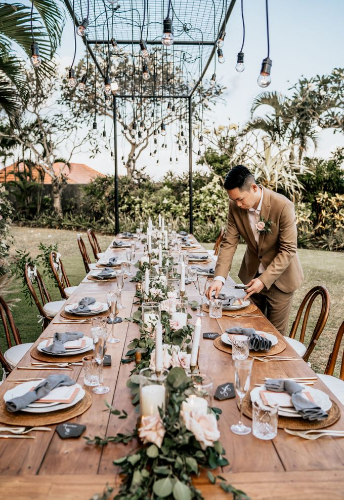 An intimate and private wedding in Bali by Hipster Wedding - 032