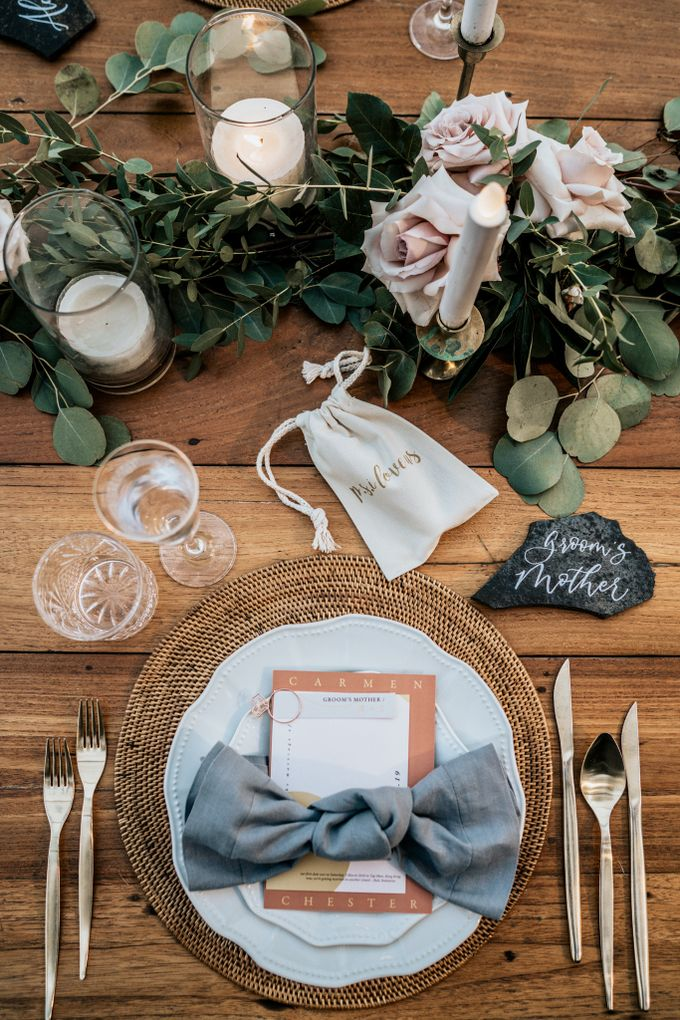 An intimate and private wedding in Bali by Hipster Wedding - 033