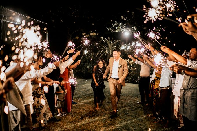 An intimate and private wedding in Bali by Hipster Wedding - 037