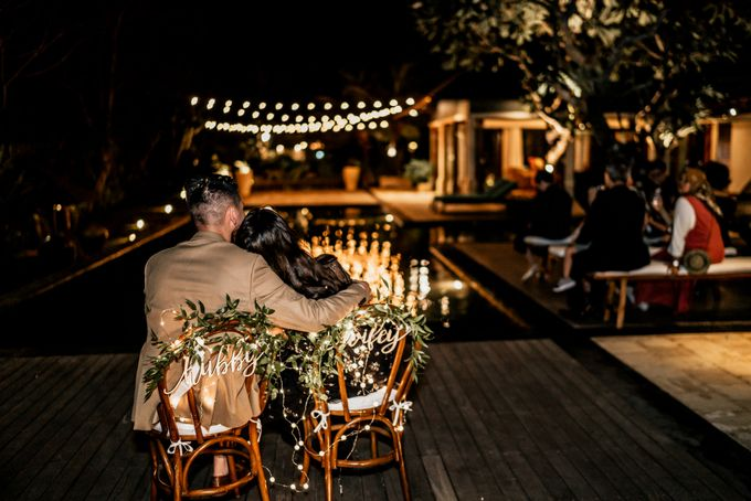 An intimate and private wedding in Bali by Hipster Wedding - 040