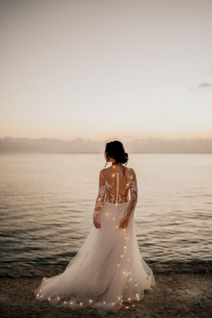 An intimate and private wedding in Bali by Hipster Wedding - 001