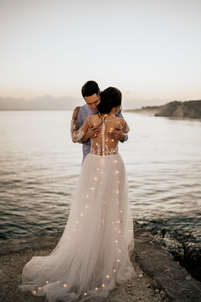 An intimate and private wedding in Bali by Hipster Wedding - 003