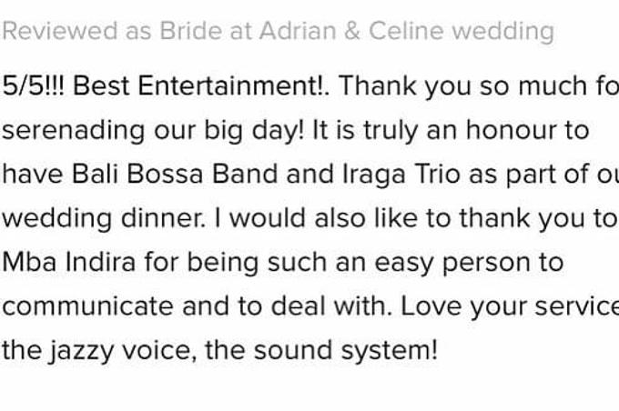 Adrian & Celine Wedding by BALI LIVE ENTERTAINMENT - 030