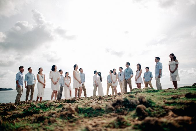 Bridal Party of Sam & Stephen by Bali Red Photography - 001