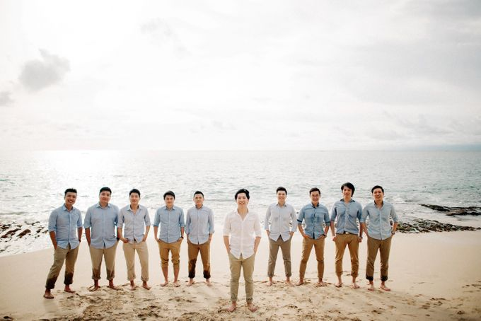 Bridal Party of Sam & Stephen by Bali Red Photography - 009