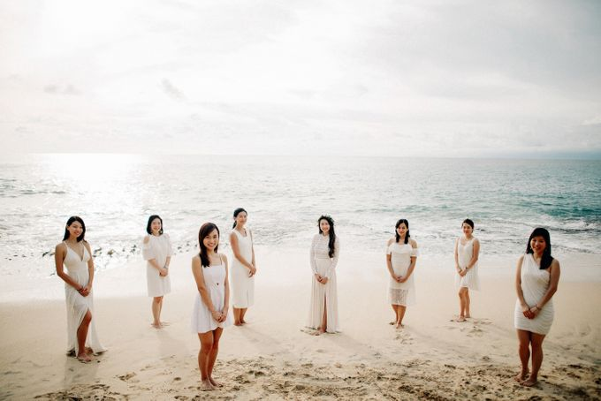 Bridal Party of Sam & Stephen by Bali Red Photography - 013