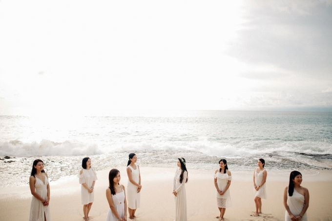 Bridal Party of Sam & Stephen by Bali Red Photography - 014