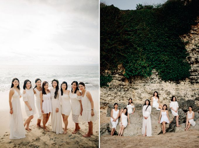 Bridal Party of Sam & Stephen by Bali Red Photography - 015
