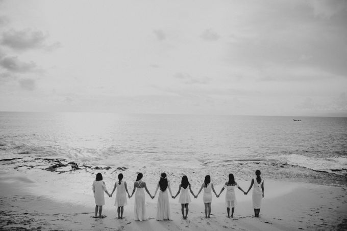 Bridal Party of Sam & Stephen by Bali Red Photography - 016