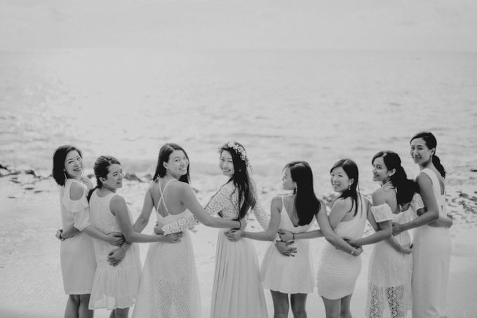 Bridal Party of Sam & Stephen by Bali Red Photography - 017
