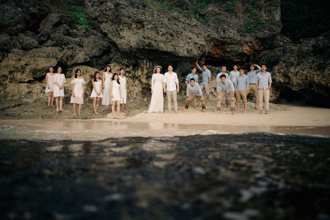 Bridal Party of Sam & Stephen by Bali Red Photography - 018