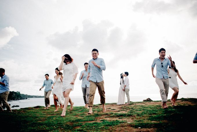 Bridal Party of Sam & Stephen by Bali Red Photography - 003