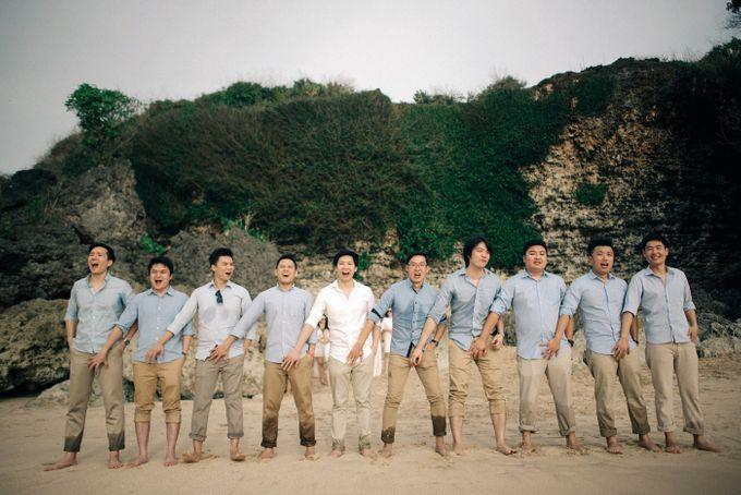 Bridal Party of Sam & Stephen by Bali Red Photography - 023