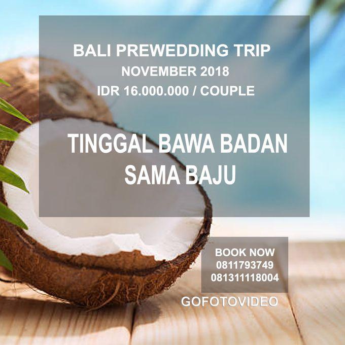 Private Prewedding Trip Bali November 2018 by GoFotoVideo - 002