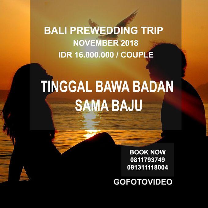 Private Prewedding Trip Bali November 2018 by GoFotoVideo - 006