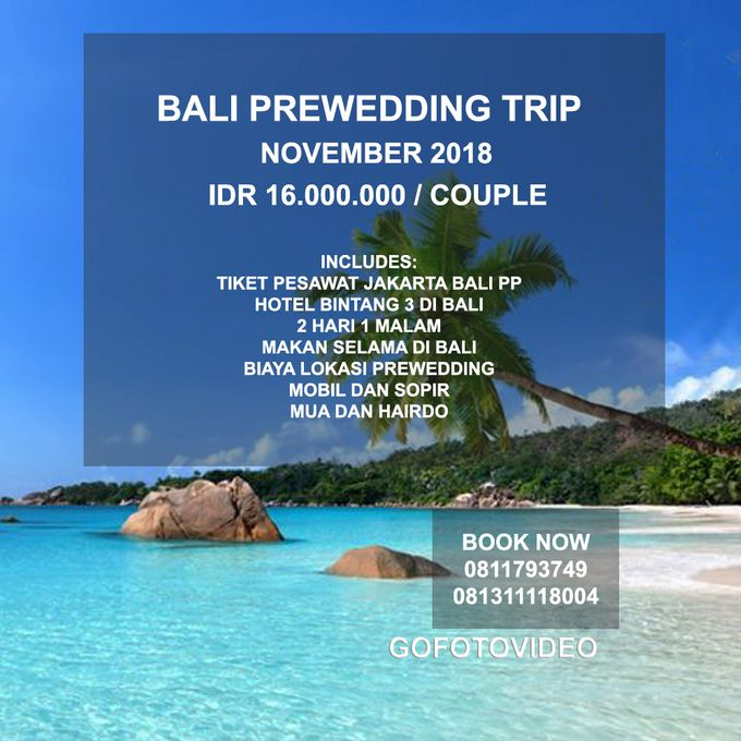Private Prewedding Trip Bali November 2018 by GoFotoVideo - 003