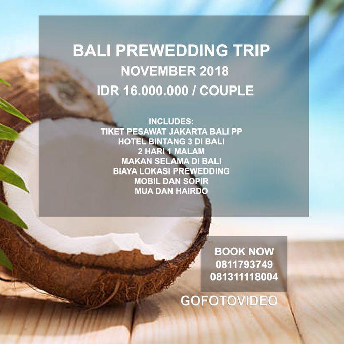 Private Prewedding Trip Bali November 2018 by GoFotoVideo - 004
