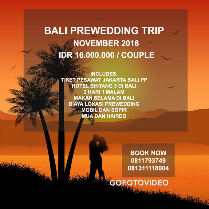 Private Prewedding Trip Bali November 2018 by GoFotoVideo - 005