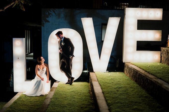 Danielle & Andrew by Louloudi Wedding & Events Stylist - 011