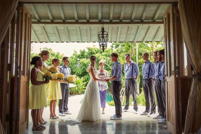 Wedding Photo of Ash and Bambi at Private Villa in Jimbaran by D'studio Photography Bali - 017
