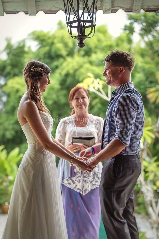 Wedding Photo of Ash and Bambi at Private Villa in Jimbaran by D'studio Photography Bali - 018