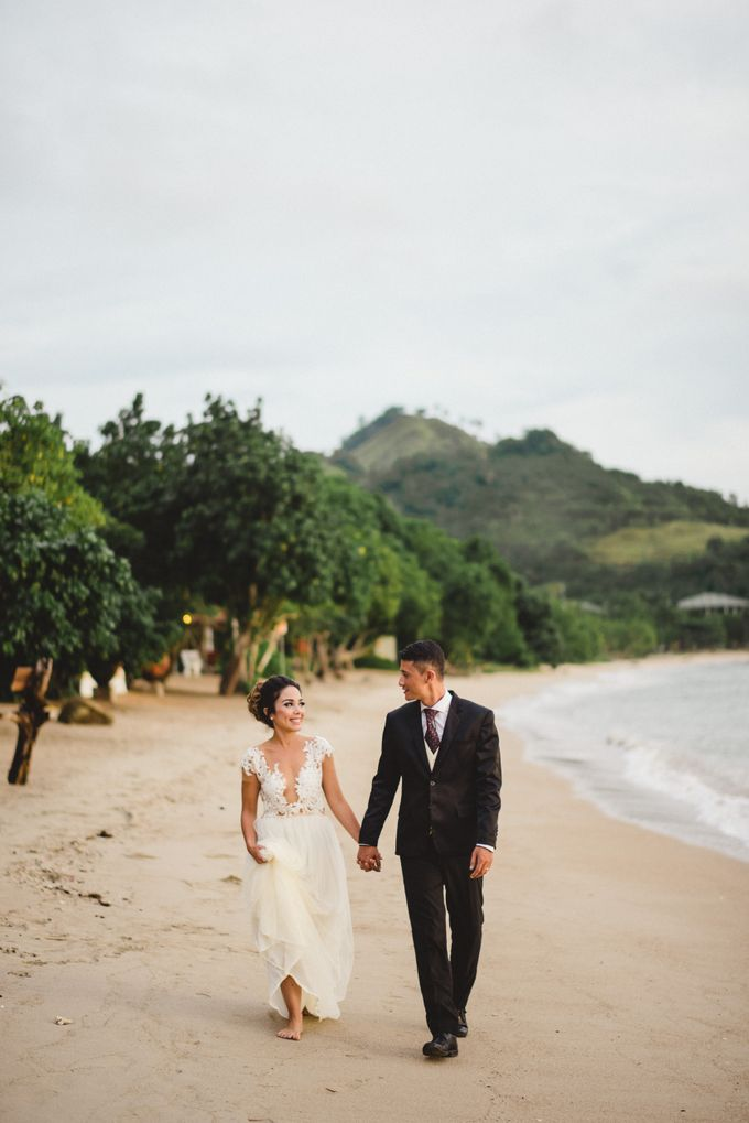 Beach Wedding at Plataran Komodo Resort and Spa by Plataran Indonesia - 006