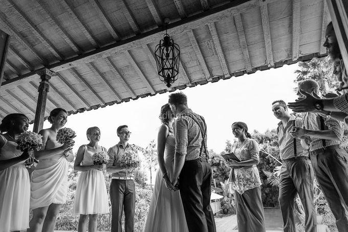 Wedding Photo of Ash and Bambi at Private Villa in Jimbaran by D'studio Photography Bali - 023