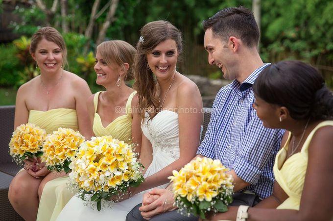 Wedding Photo of Ash and Bambi at Private Villa in Jimbaran by D'studio Photography Bali - 030