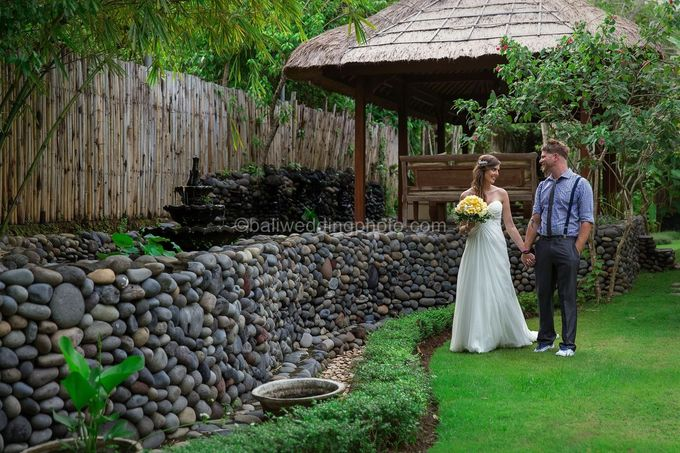 Wedding Photo of Ash and Bambi at Private Villa in Jimbaran by D'studio Photography Bali - 038