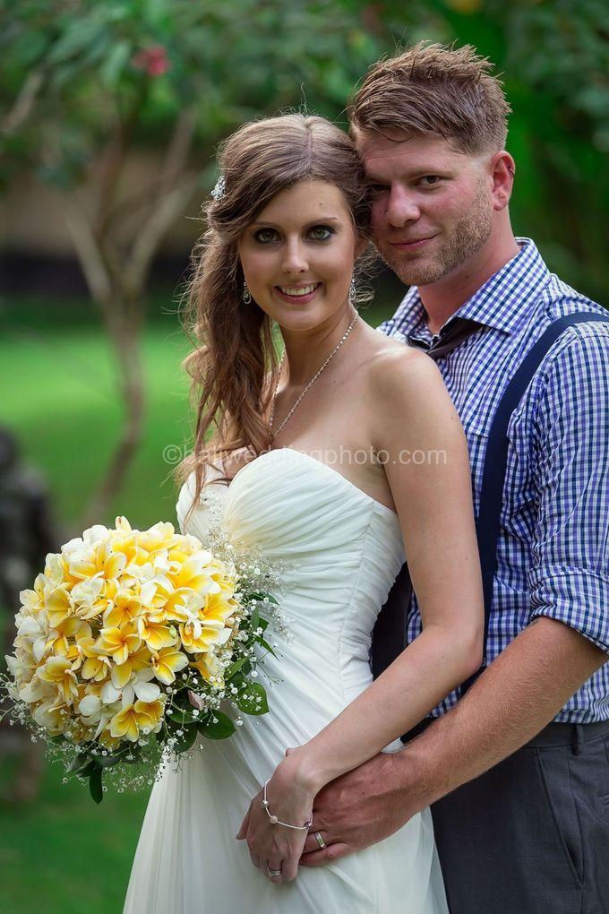 Wedding Photo of Ash and Bambi at Private Villa in Jimbaran by D'studio Photography Bali - 040