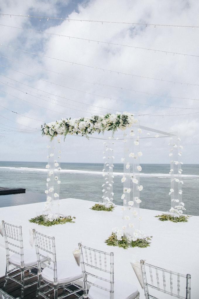 Aaron and Justine Wedding by Bali Wonderful Decor - 001