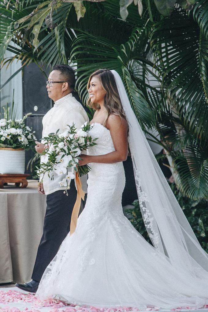 Aaron and Justine Wedding by Bali Wonderful Decor - 005