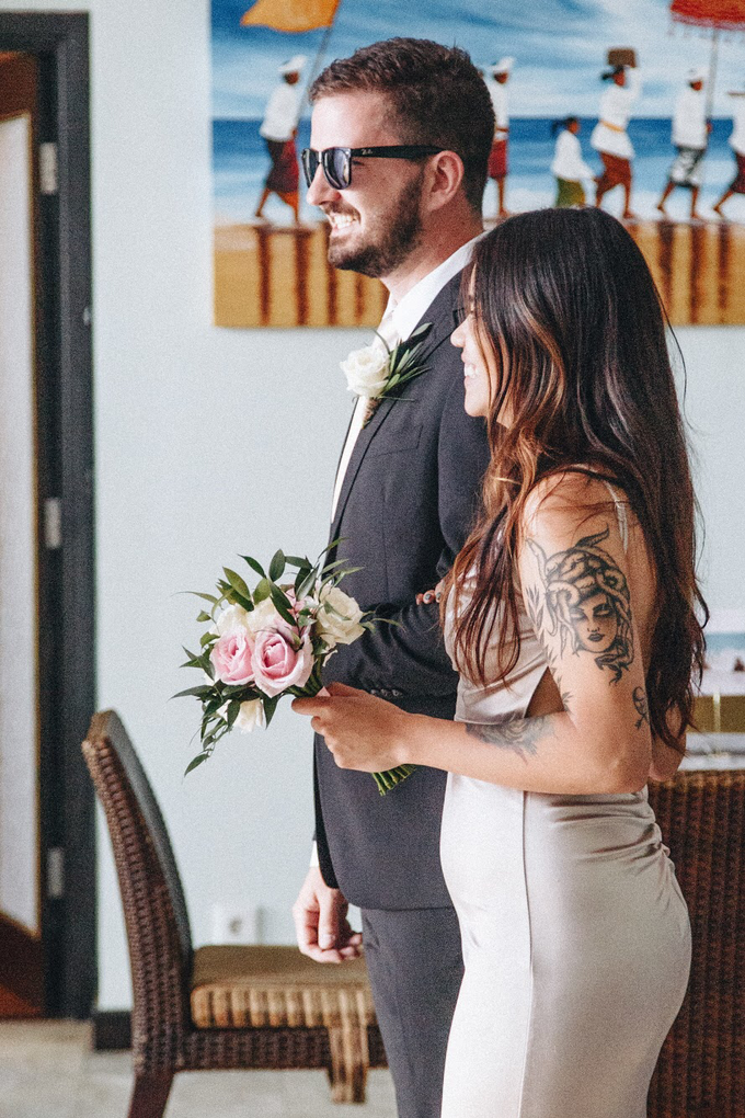 Aaron and Justine Wedding by Bali Wonderful Decor - 008