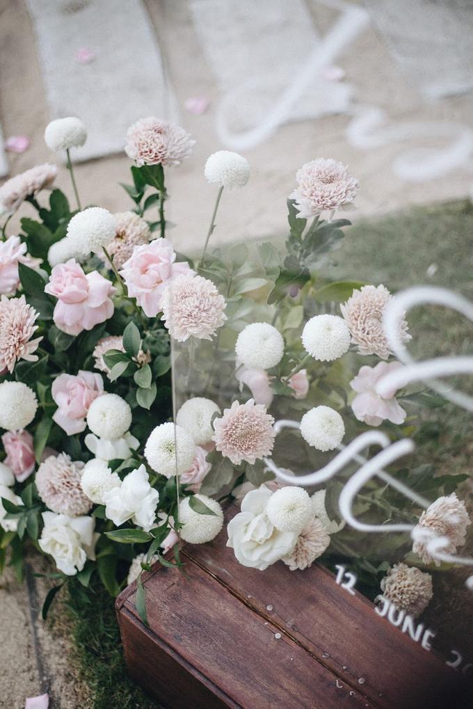Aaron and Justine Wedding by Bali Wonderful Decor - 014