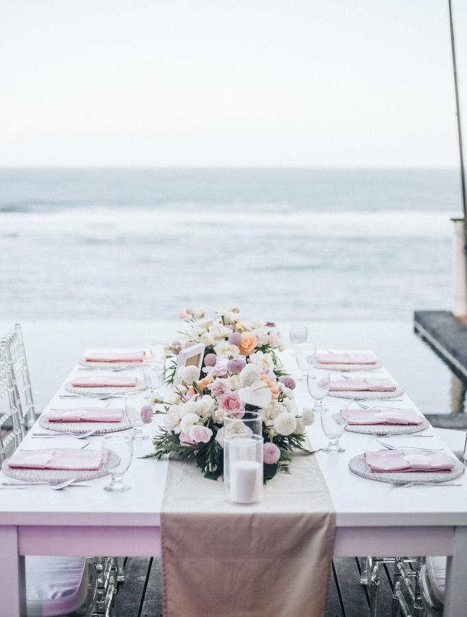 Aaron and Justine Wedding by Bali Wonderful Decor - 019