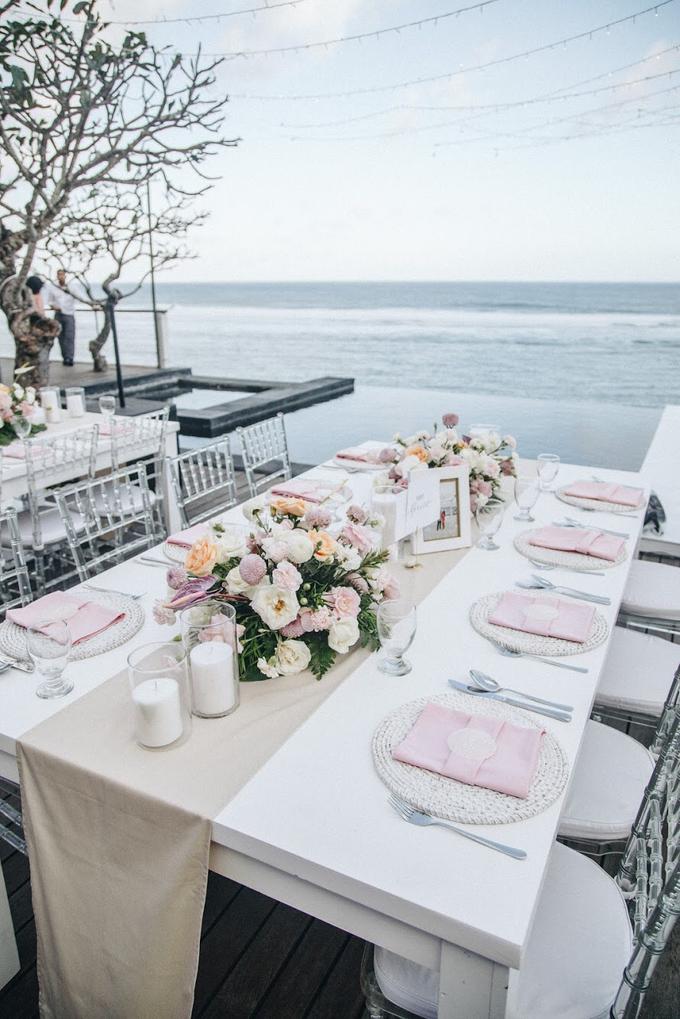 Aaron and Justine Wedding by Bali Wonderful Decor - 021