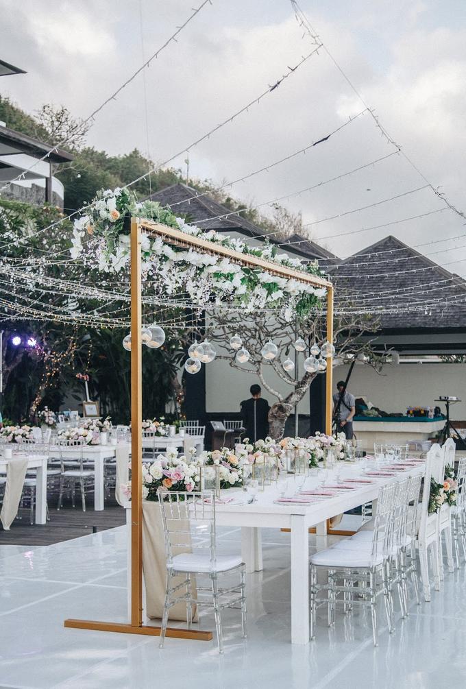 Aaron and Justine Wedding by Bali Wonderful Decor - 024