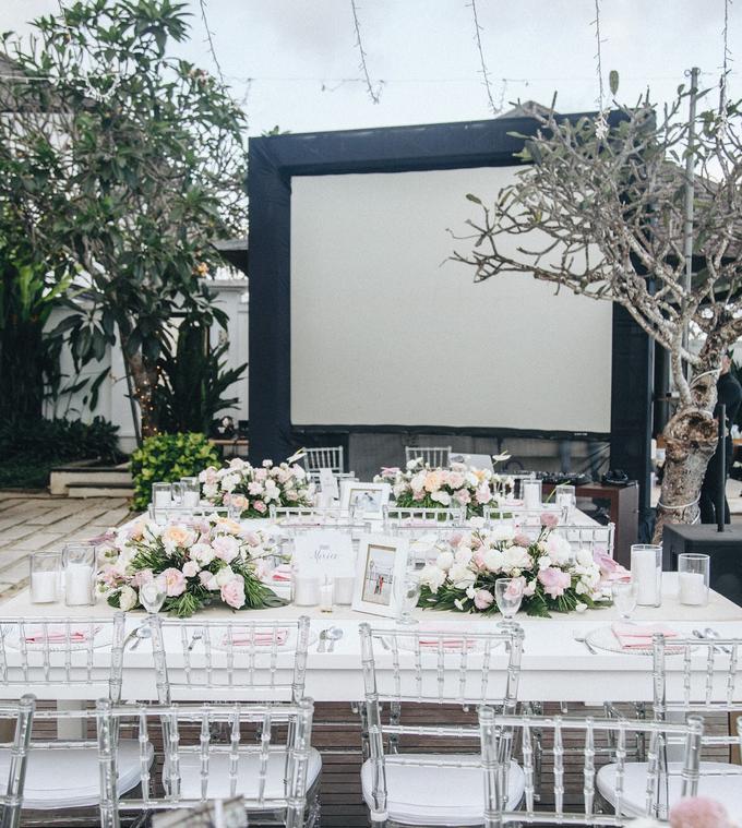 Aaron and Justine Wedding by Bali Wonderful Decor - 025