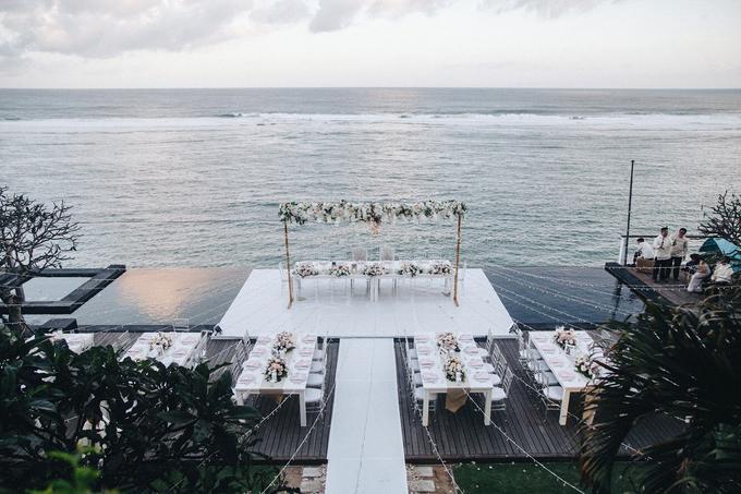 Aaron and Justine Wedding by Bali Wonderful Decor - 038