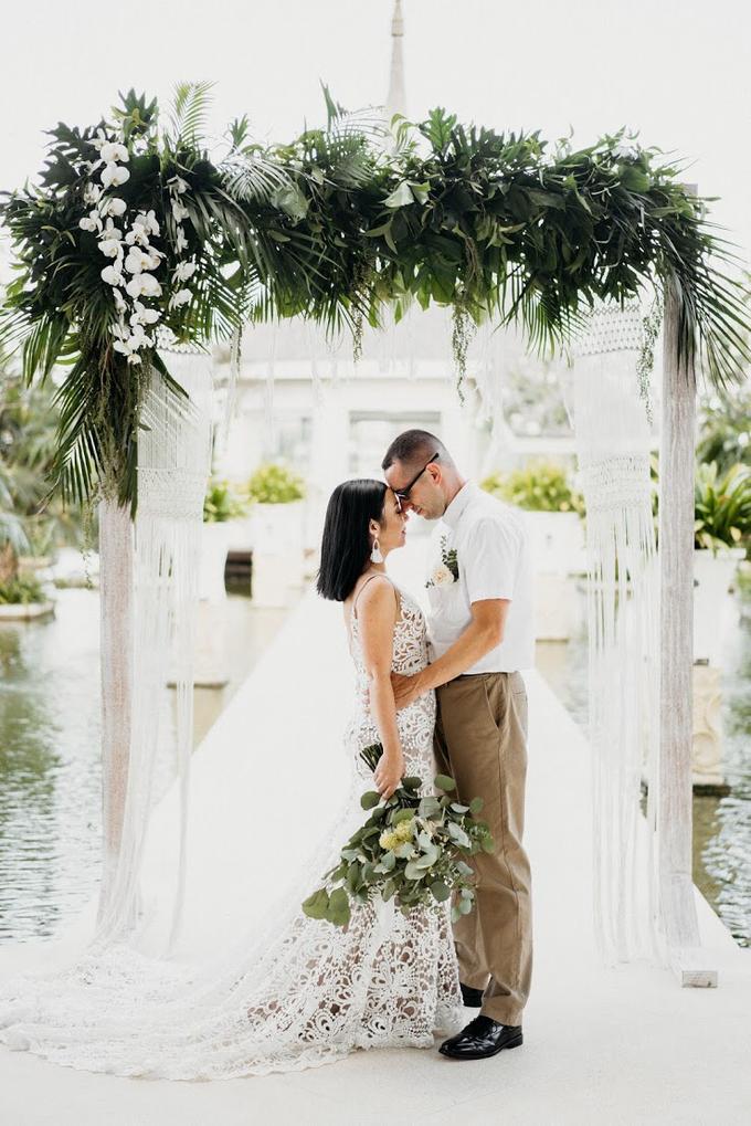 Tait and Maria Wedding  by Bali Wonderful Decor - 004