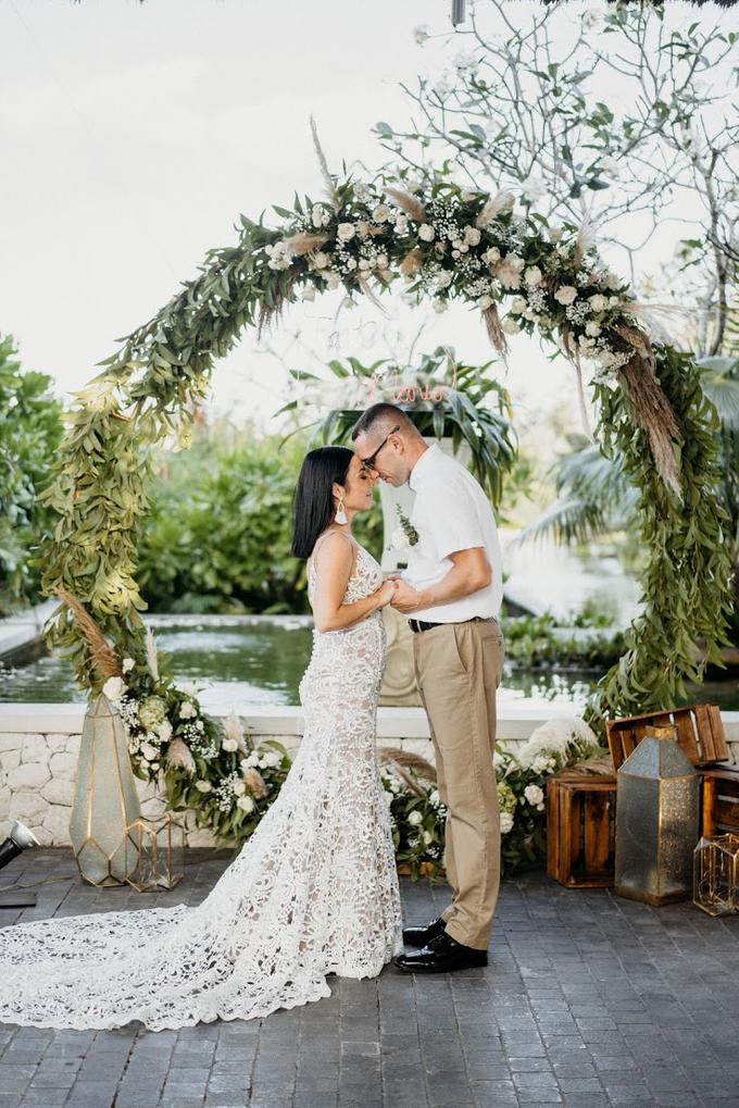 Tait and Maria Wedding  by Bali Wonderful Decor - 007