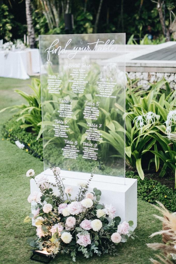 Polly and Tom Wedding  by Bali Wonderful Decor - 014