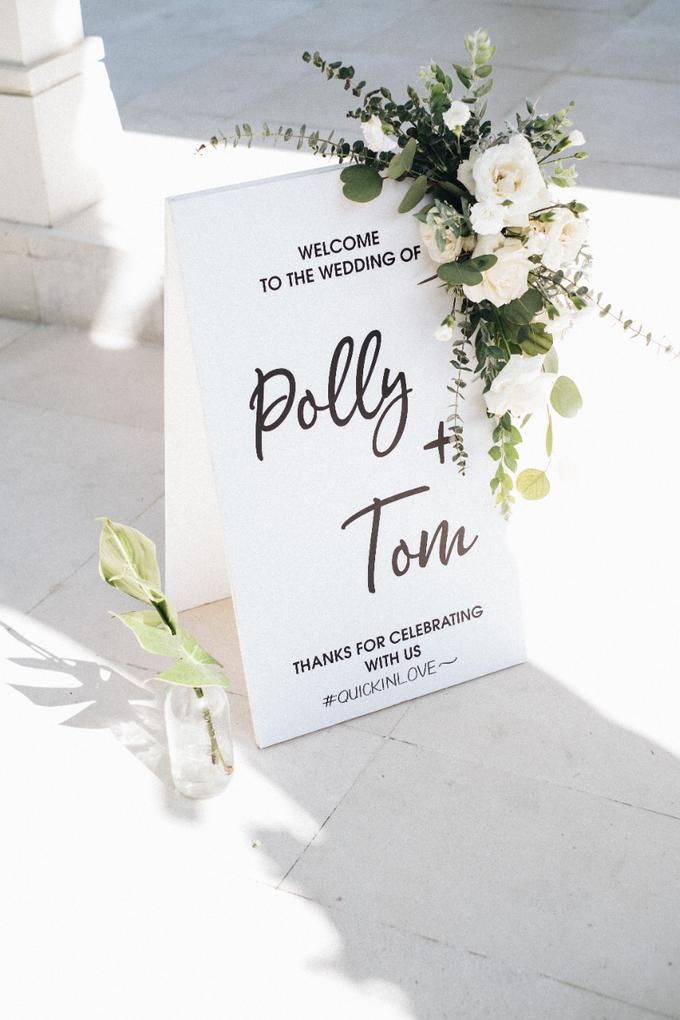 Polly and Tom Wedding  by Bali Wonderful Decor - 026