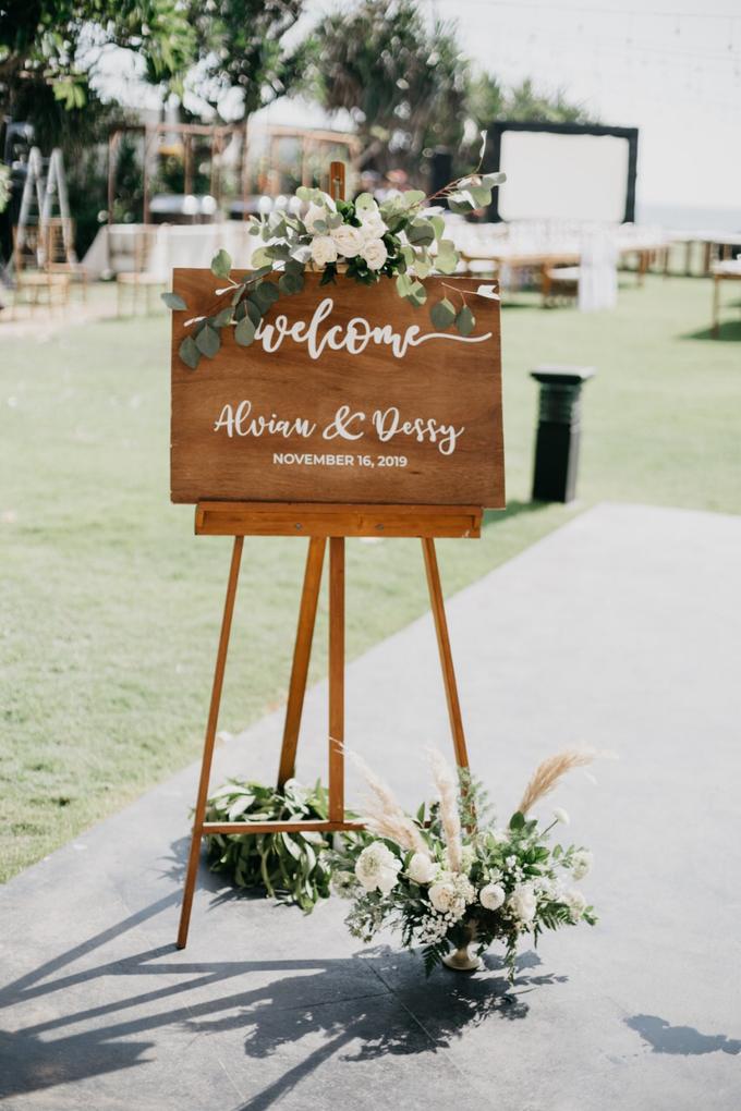 Dessy & Alvian Wedding by Vantis Official - 045