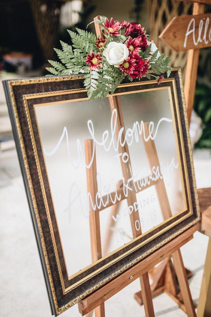 Andry and Hanna Wedding  by Bali Wonderful Decor - 001