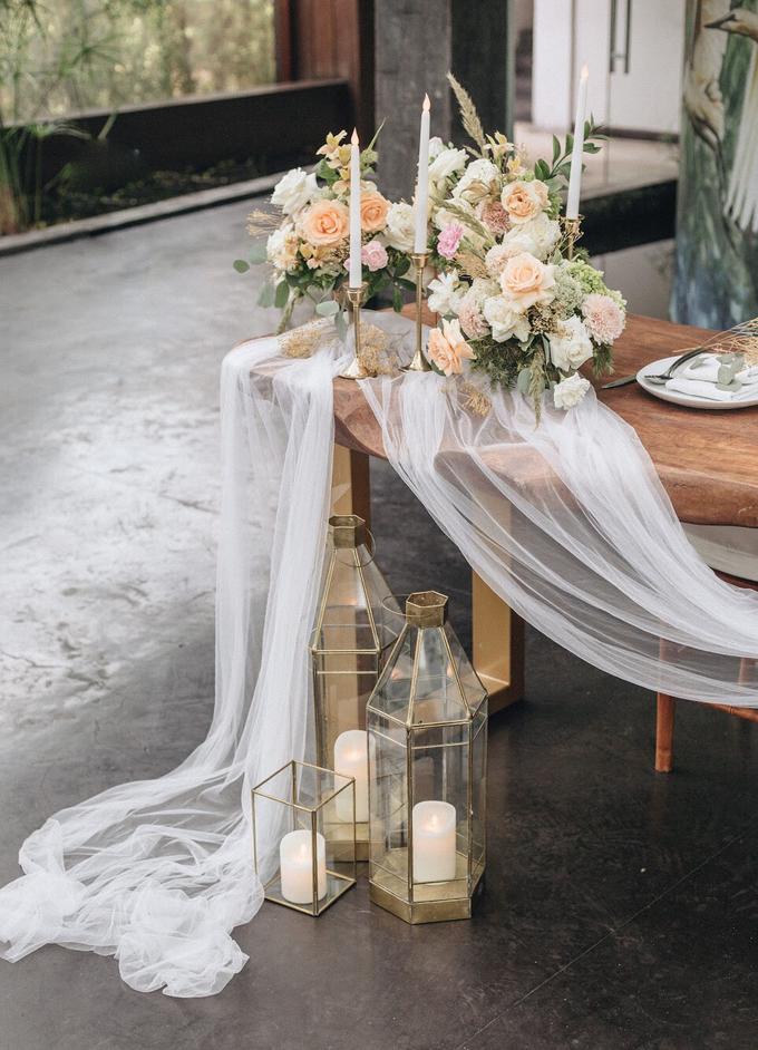 Zamir and Vivi wedding reception by Bali Wonderful Decor - 008